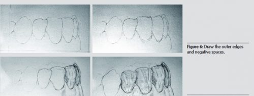 learning to draw dentistry