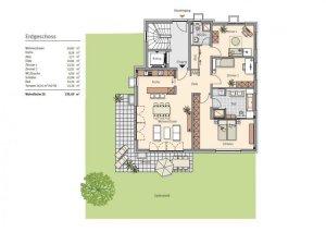 Wohnzimmerplanung Sofa und TVPositionierung