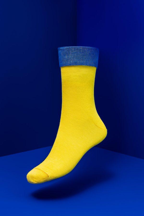 Bauhäusler Regular Socken Gelb