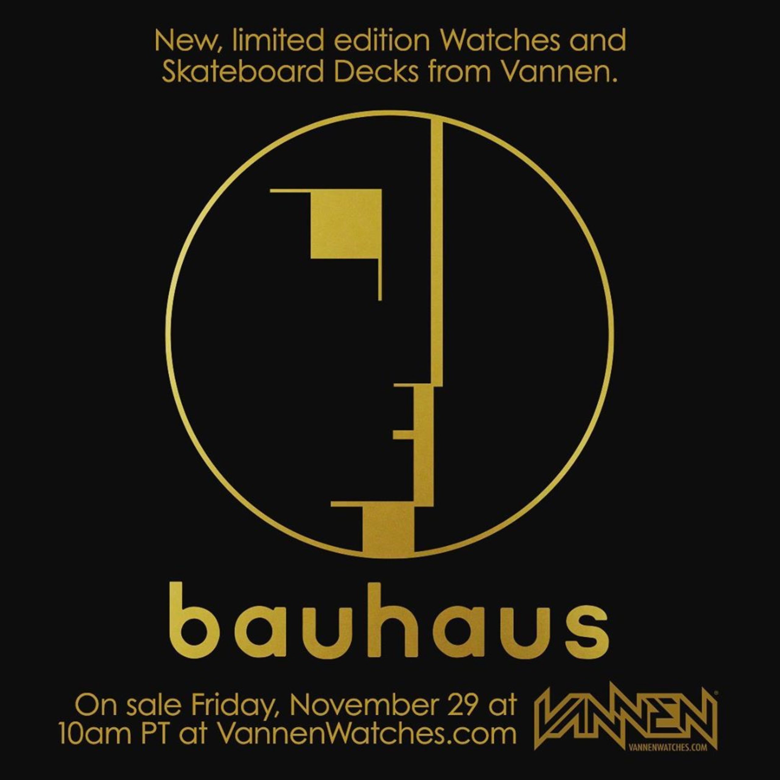 Vannen Watches Bauhaus Series 2