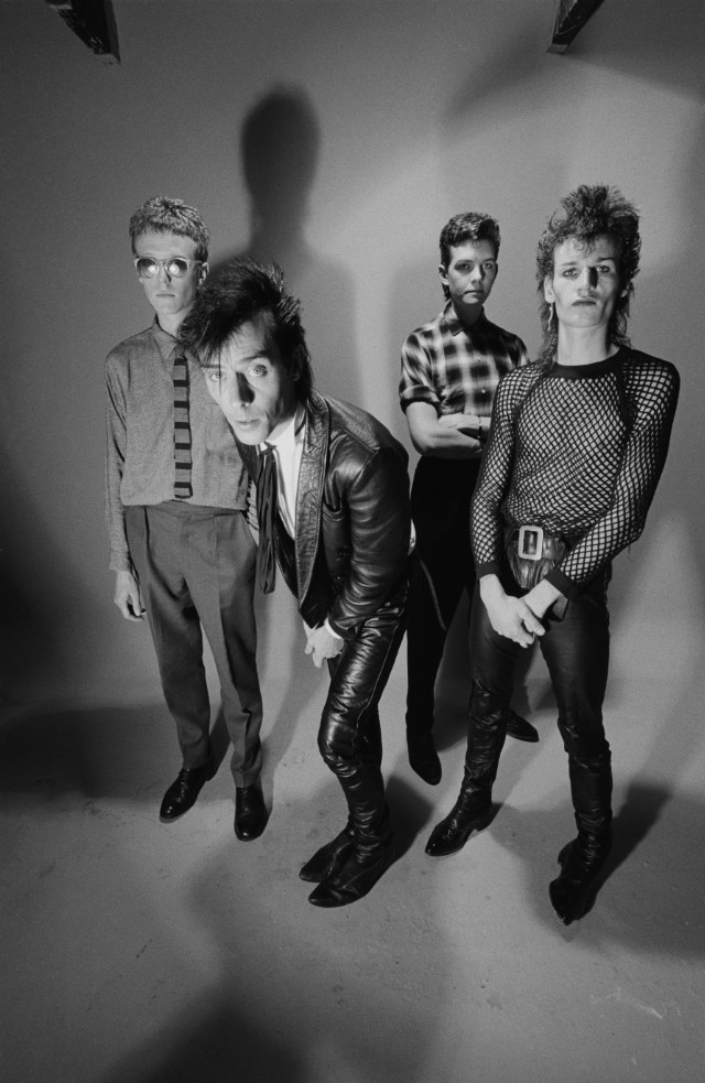 Bauhaus, August 1982, (c) Finn Costello