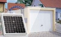 autarker Garagentorantrieb mittels Akku oder Solarzelle ...