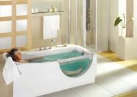 Gestatten - Duscholux-Badewanne mit Tr: Behinderten ...