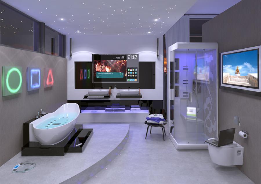 Trendumfrage besttigt Einzug digitaler Technik ins Badezimmer  Digitalisierung im Bad der Zukunft