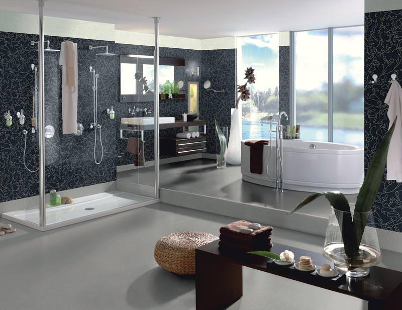 WetroomVinyl Kollektion fr Boden und Wand  Wandbelag