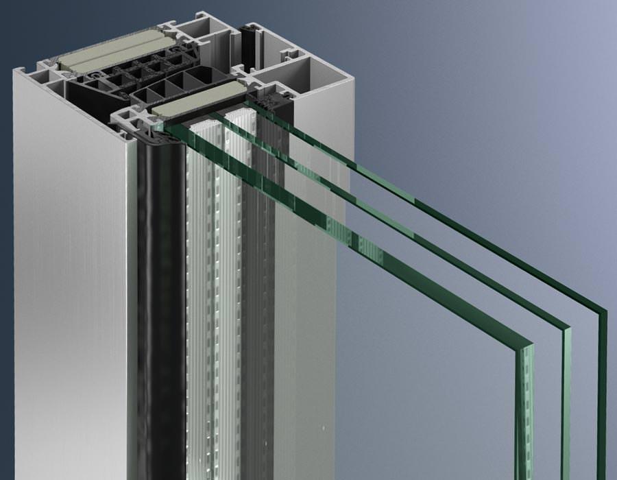 Schco Aluminiumfenster auf Passivhausniveau