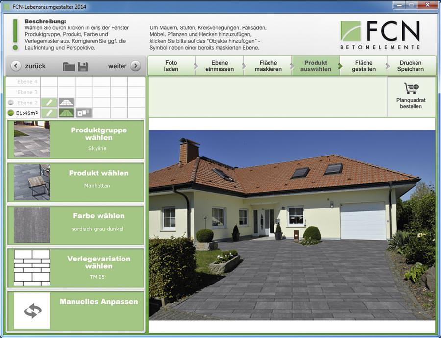 Neue Visualisierungssoftware von FC Ndling erleichtert Gartenplanung