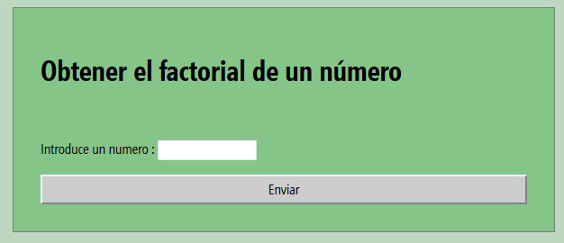 Factorial PHP