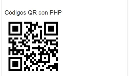 Descargar QR con PHP
