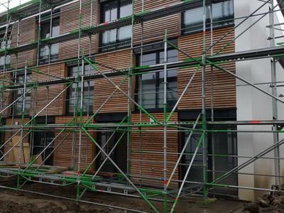 fehlende Abdichtungen an Terrassenfenstern & Terassentüren. Baubegleitung Baukontrolle Rohbau Rohbauabnahme Bauabnahme