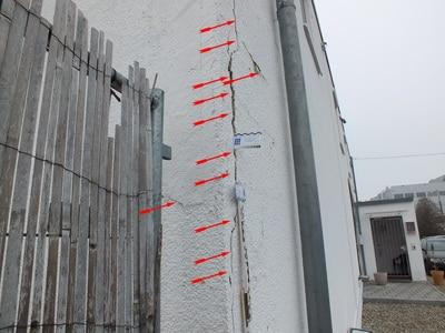 Bilder Bauschaden Baumangel Bauschäden Baumängel Beweissicherung vor Baubeginn
