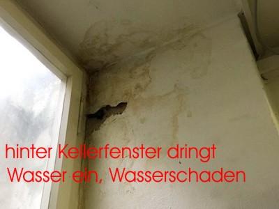 Wasserschaden Keller