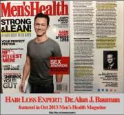 men's health magazine feature