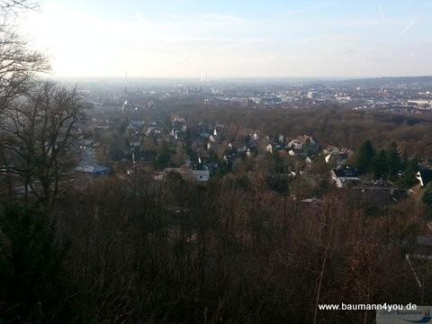 Teufelskanzel an der Kippenburg - Blick uber Aschaffenburg