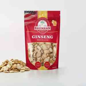 Wisconsin Ginseng Slices - Medium - Front