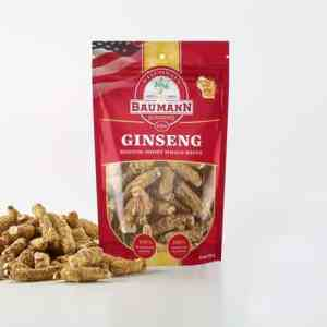 Wisconsin Ginseng Medium Root Short Front