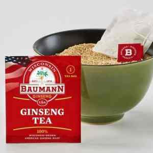 wisconsin ginseng tea bag pillows