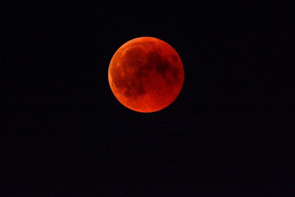 Mondfinsternis Blutmond