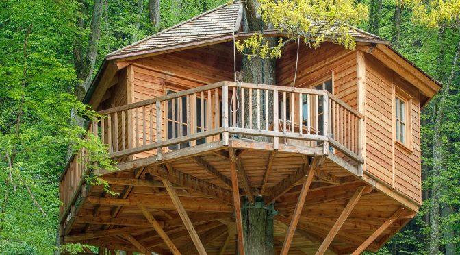 Herbstsaison: Zeit für die richtige Pflege von Gartenspielgeräten und Baumhäusern
