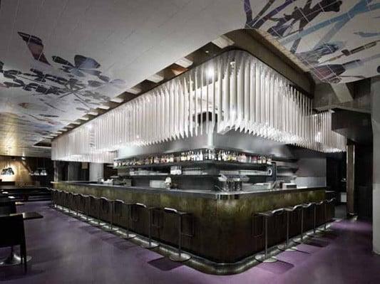 CafRestaurant und Club in Stuttgart  Fliesen und