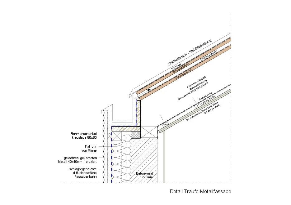 Wohnhaus in Stuttgart  Geneigtes Dach  Wohnen  Baunetz