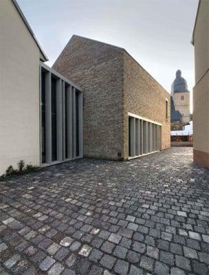 Lutherhausensemble in Eisleben  Mauerwerk  Kultur