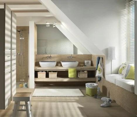 Bder im Dachgeschoss  Bad und Sanitr  Planungsgrundlagen  Baunetz_Wissen