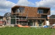 Villa Welpeloo in Enschede im Bauzustand