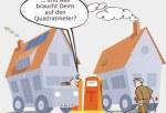 Energieverbrauch im Energieeffizienzhaus der DENA