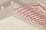 Aufbau einer Decke mit Bauteilaktivierung