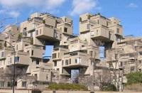 Häuser wie bei Tetris gestapelt