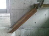 Treppenwangen aus Stahl falsch eingebaut