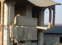 Abgebrochene Balkonplatte