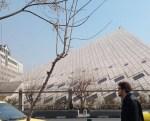 Sitz des Parlamentes im Iran Madscheles