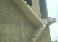 Treppe mit unzugänglichem Podest