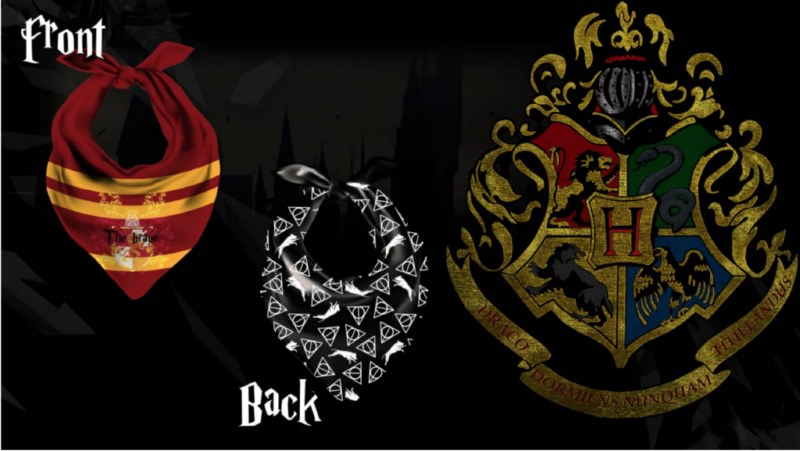 Bandane per cani, Harry Potter