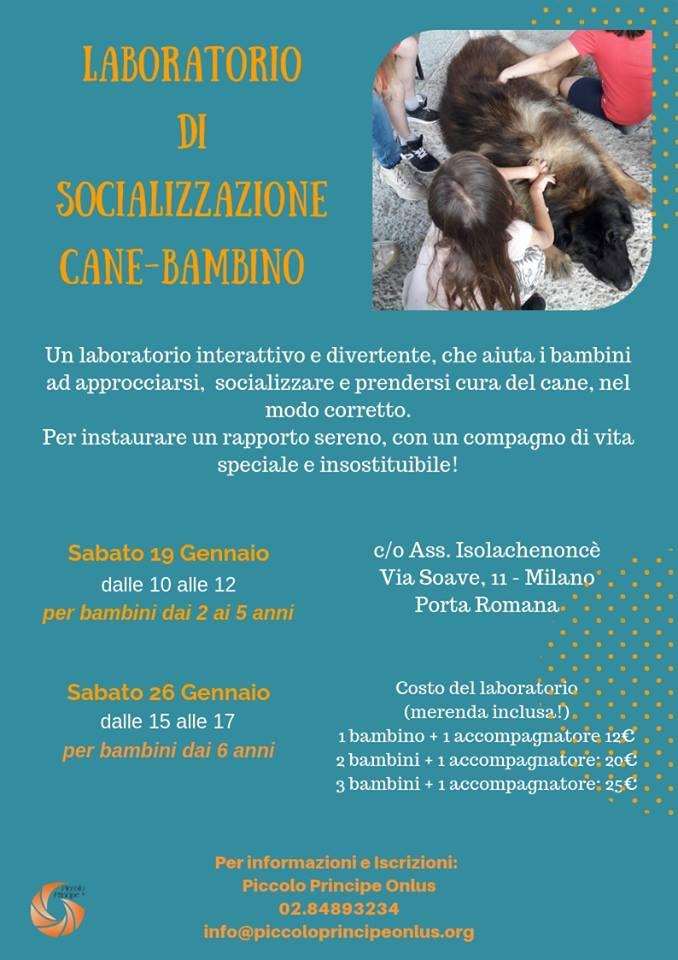 socializzazione-cane-bambino