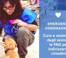 DOMANDE E RISPOSTE: Avere cura degli animali ai tempi del CoronaVirus   LNDC