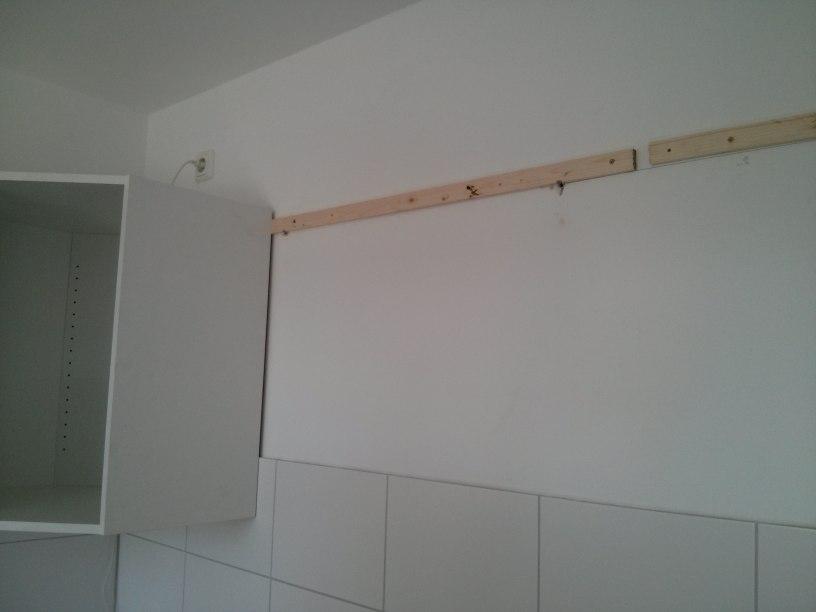 Aufbau unserer IKEAKche Teil 2 Befestigungen  Arbeitsplattenausschnitte  Passivhaus