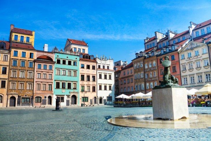 Varsovia - La Ciudad Vieja (Stare Miasto)