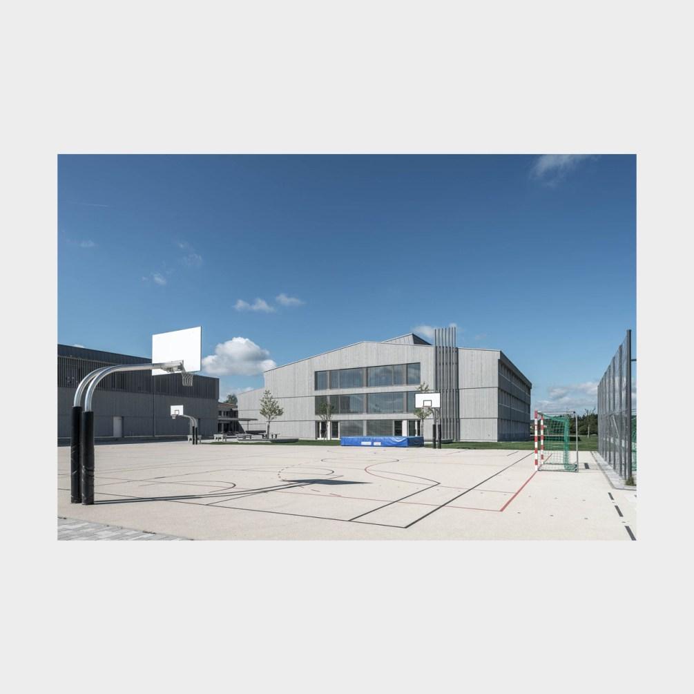 Architekturfotografie Diedorf Schmuttertal Gymnasium