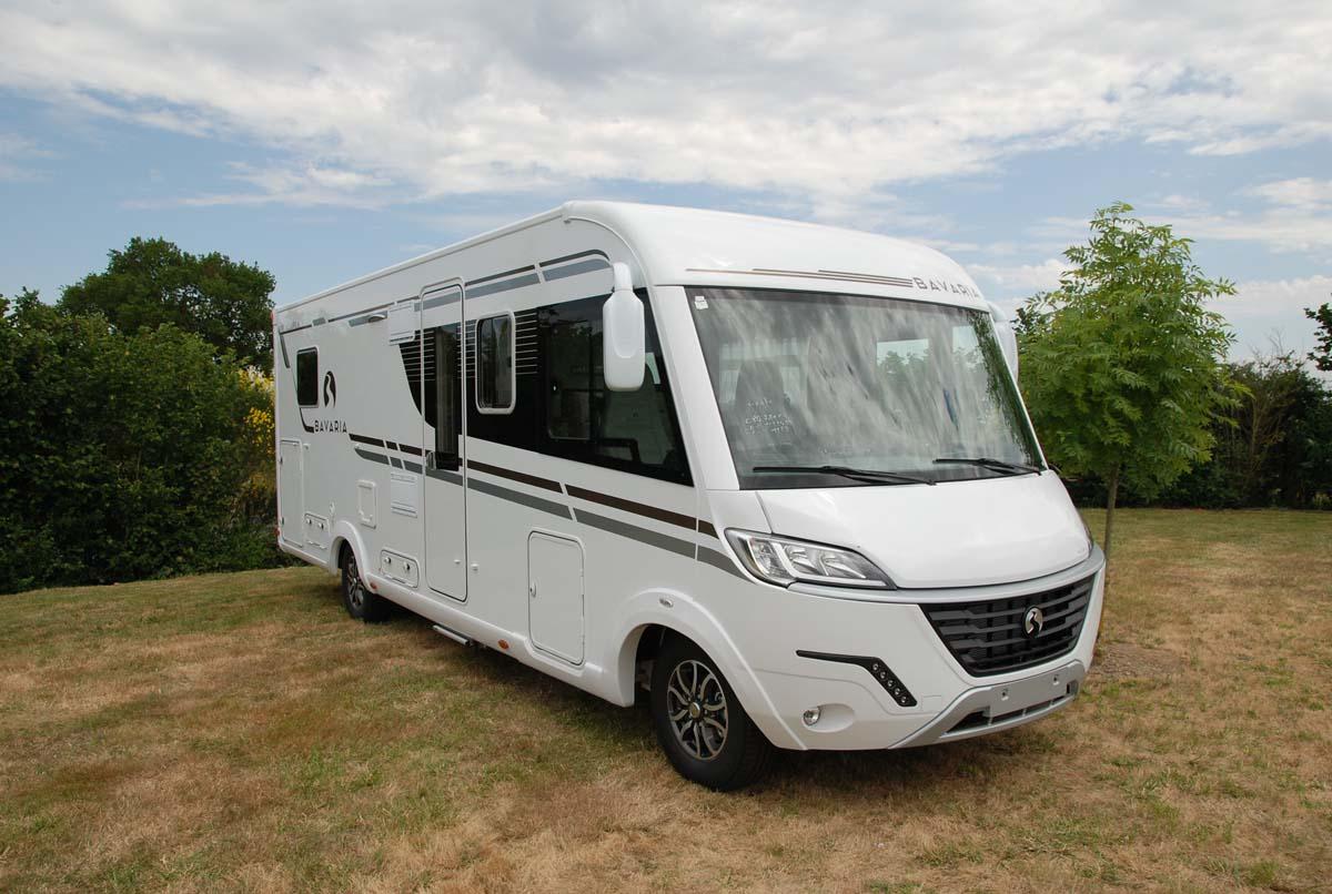 Camping Car Poids Lourd Lit Central I781C Bavaria