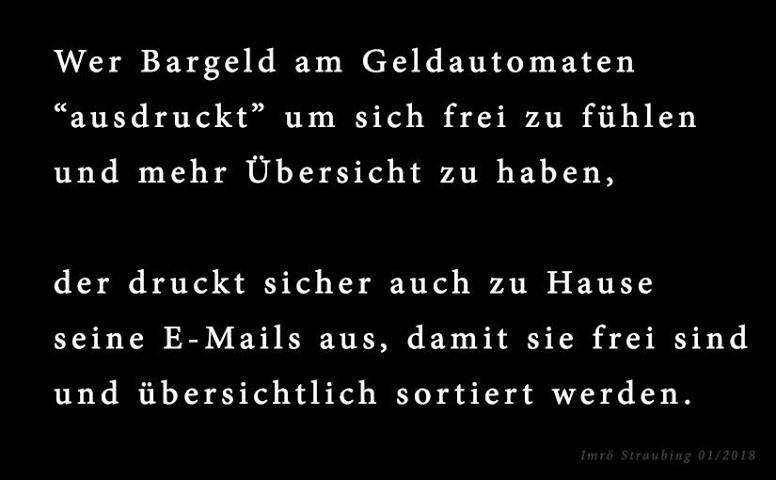 Zitat Imrö Straubing