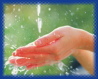 kill bacteria on your hands by washing with acidic ionized water