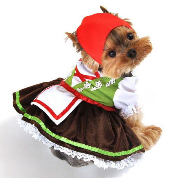 Alpine Girl Dog Costume