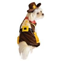 Cowboy Halloween Dog Costume