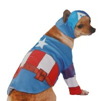 Marvel Captain America Dog Costume
