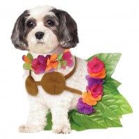Rubie's Hula Girl Halloween Dog Costume | BaxterBoo