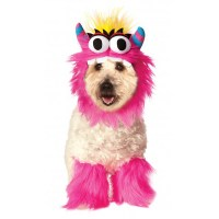 Rubie's Monster Halloween Dog Costume - Pink | BaxterBoo