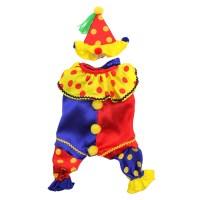 Shiny Clown Dog Costume | BaxterBoo